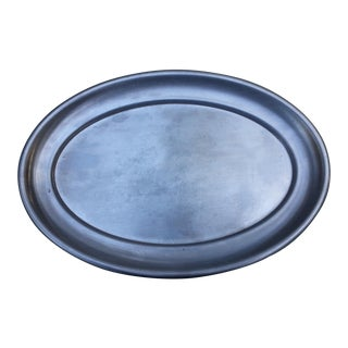 United States Marine Corp Stainless Steel Serving Platter