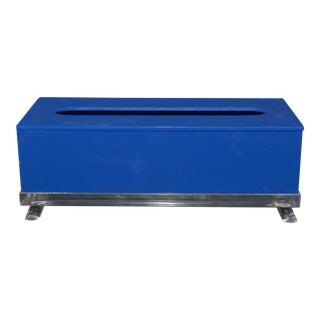 Mid-Century Modern Lucite Tissue Box
