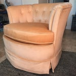 Image of Drexel Heritage Tufted Tub Chair