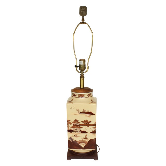 Image of Vintage Chinese Table Lamp