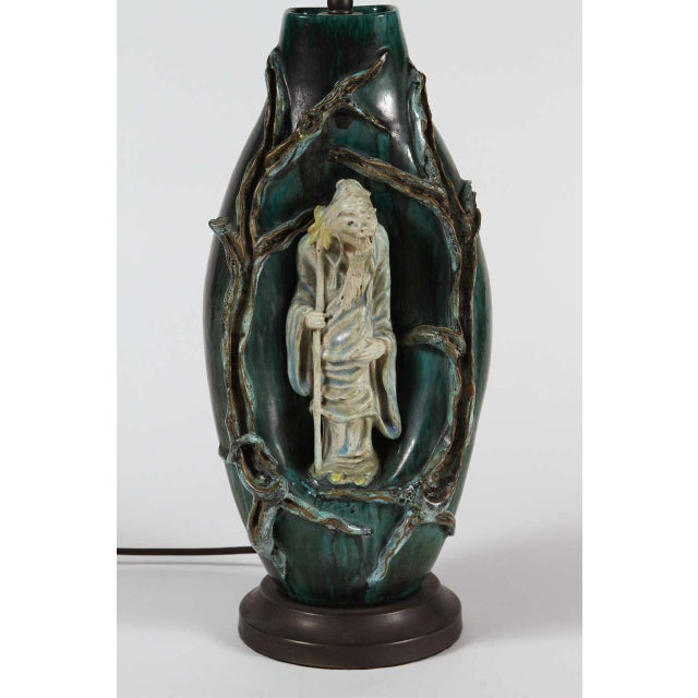 Marcello Fantoni Chinese Scholar Table Lamp - Image 4 of 9