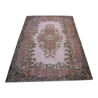 "Oriental Turkish Wool Rug - 6'5"" x 9'8"""