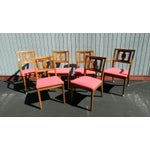 Image of Drexel Butternut Dining Chairs - Set of 6From the Meridian Collection for