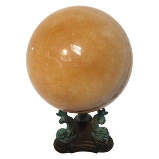 Calcite Crystal Ball