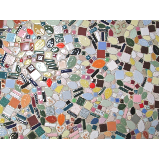 1960's Mosaic Tile Top Coffee Table - Image 6 of 6