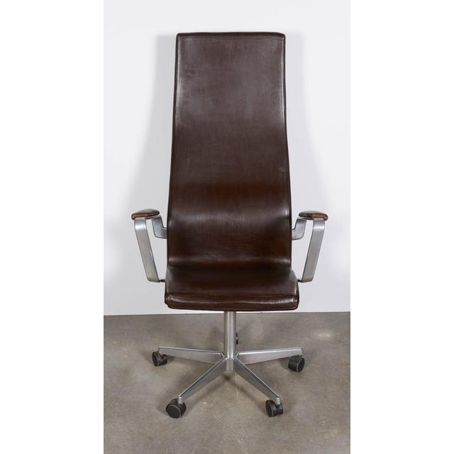 Arne Jacobsen Oxford High Back Chair - Image 6 of 6