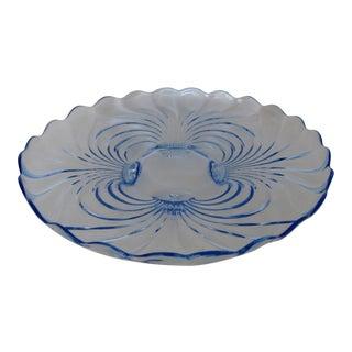 Cambridge Glass Serving Platter