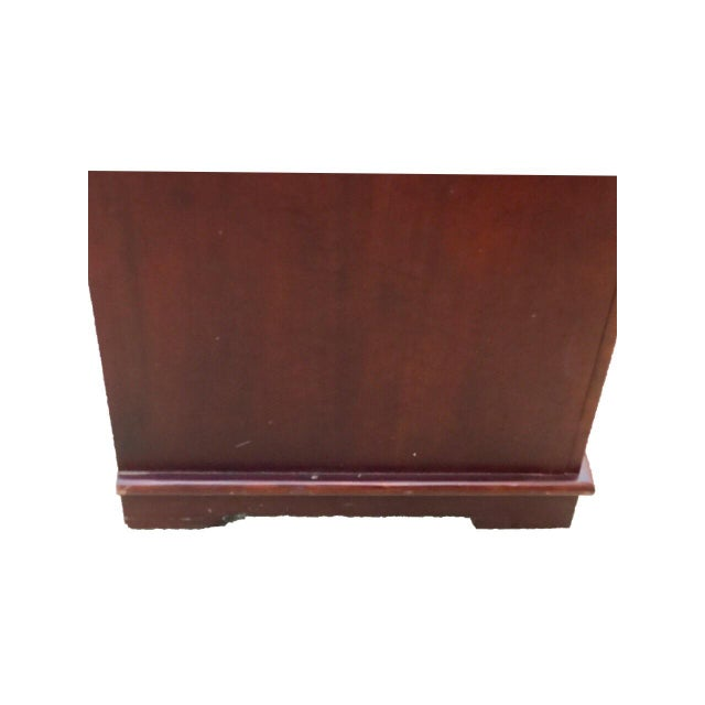 Solid Mahogany Contemporary Entertainment Console - Image 6 of 10