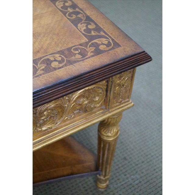 Jonathan Charles Louis XVI Inlaid Coffee Table - Image 4 of 10