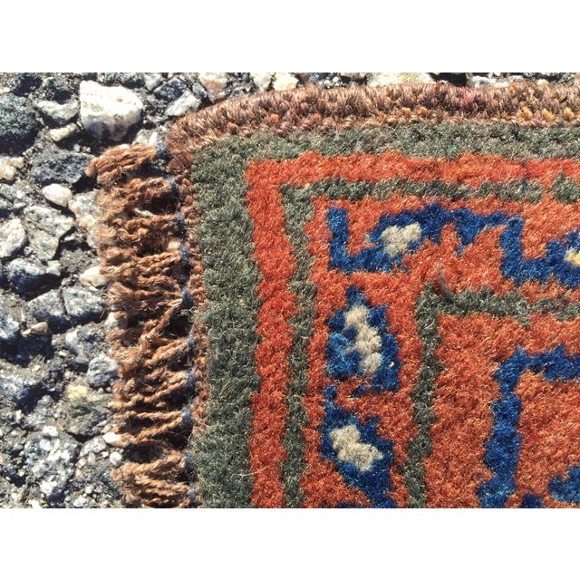 Baluchi Persian Rug - 1′4″ × 2′ - Image 7 of 9