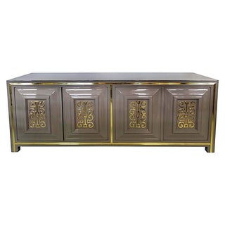 Lacquered Mid-Century Modern Mastercraft Buffet