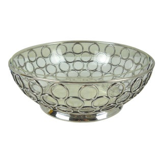 Midcentury Silver-Plate Serving Bowl