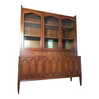 Hooker Mid-Century Display Cabinet