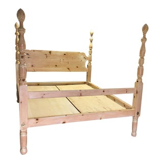 Pine Wood California King Bed Frame
