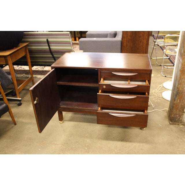 Jens Risom Cherry Wood Credenza - Image 5 of 6