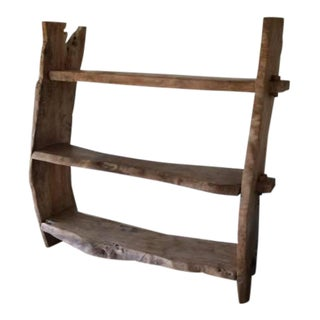 Rustic Wooden Book Shelf