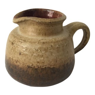 Ceramic Earthenware Pitcher