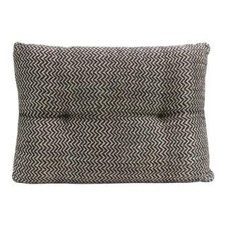 Ebony Zig-Zag Handloom Pillow