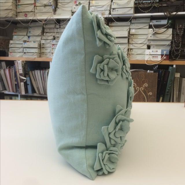 Tourmaline Linen Pillow Cover - Image 4 of 5