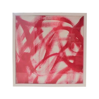 Michele Spane Pink Abstract Painting