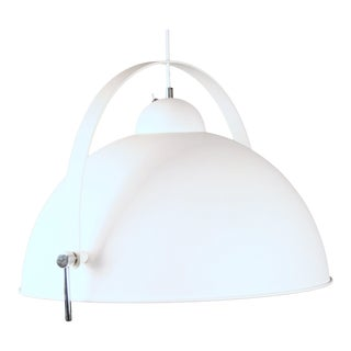 White Dome Pendant Light