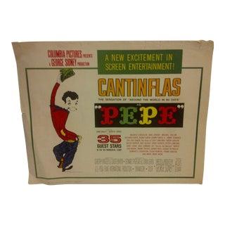 "Vintage Movie Poster ""Pepe"" Dan Dailey & Shirley Jones 1960"