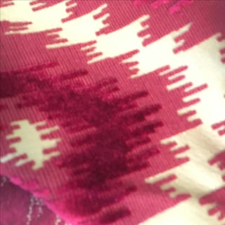 Mulberry Home Burr Velvet Cerise Fabric - 5 Yards