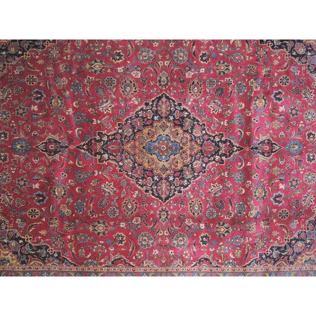"Leon Banilivi Persian Mashad Carpet - 9'10"" X 13'2"" - Image 4 of 6"