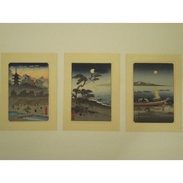Japanese Block Prints - Set of 3 - Image 9 of 9