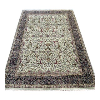 Silk Blend Persian-Pak Tabriz Carpet - 8′1″ × 11′10″
