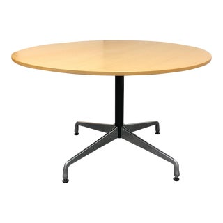 """Herman Miller Eames 48"""" Round Dining Table"""