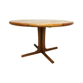 Dyrlund Mid-Century Modern Teak Dining Table