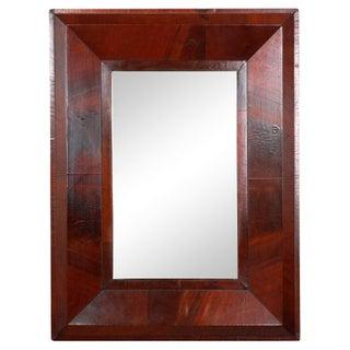 1840s Antique Mahogany Empire Mirror