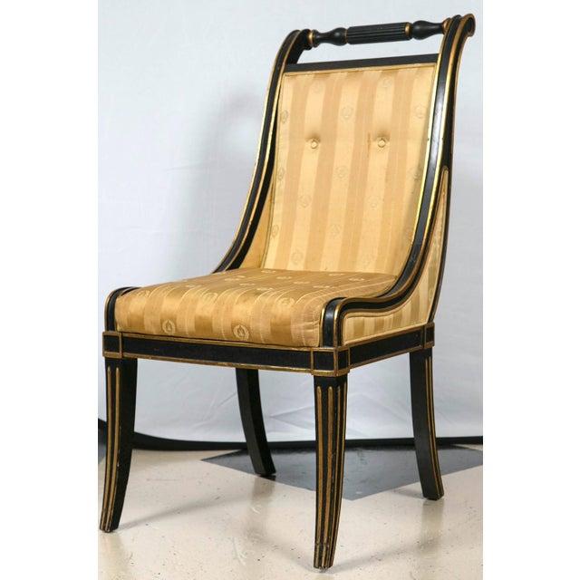 John Stuart Saber Leg Dining Chairs - Set of 6 - Image 3 of 9