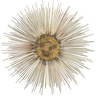 William and Bruce Friedle Wire Sunburst Sculpture