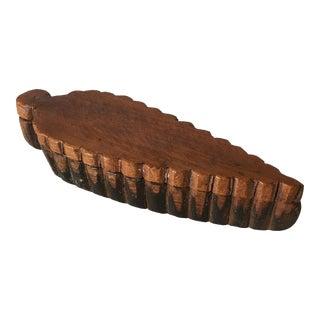 Folk Art Wooden Box