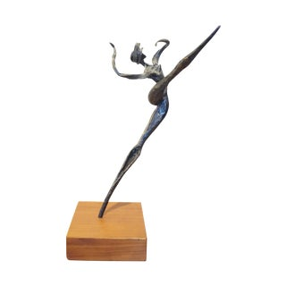 Dancing Bronze Figure by Luciano Minuzzi