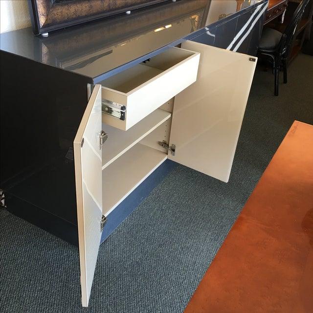 Modern Metallic Lacquer Sideboard - Image 4 of 10