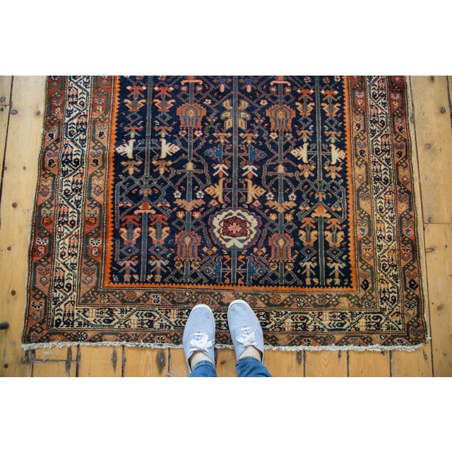 """Colorful Antique Malayer Rug - 4'2"""" X 6'6"""" - Image 5 of 10"""