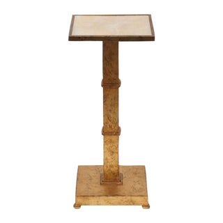 Marble Top Gilt Side Table
