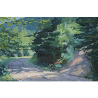 """Vermont Mountain Road"" Painting by Stephen Remick"