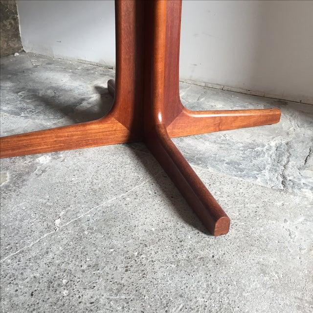 Mobler Teak Pedestal Dining Table - Image 6 of 8