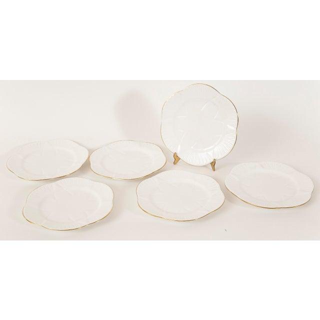 Vintage Shelley Fine Porcelain Dessert Plates -S/6 - Image 7 of 9