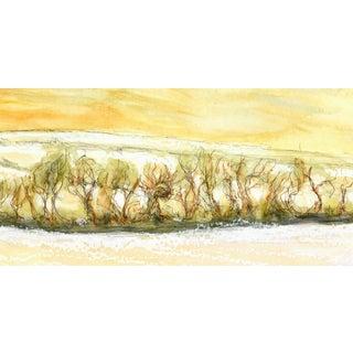 Original Watercolor Painting - Brushwood
