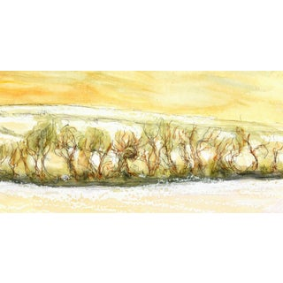 Original Watercolor Painting - Brushwood