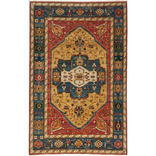 """Ziegler Hand Knotted Area Rug- 5'9"""" x 9'1"""""""