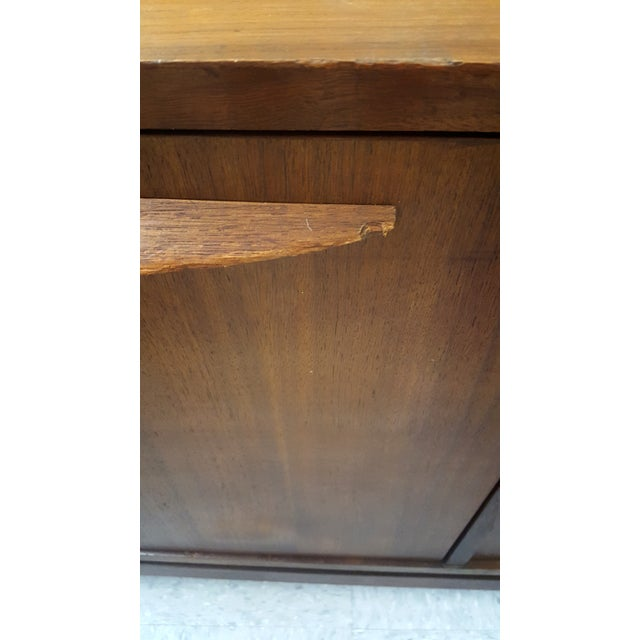 Image of Mid-Century Modern Walnut Office Credenza