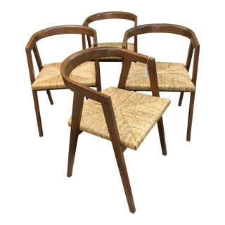 Vintage Mid-Century Compass Chairs - Set of 4