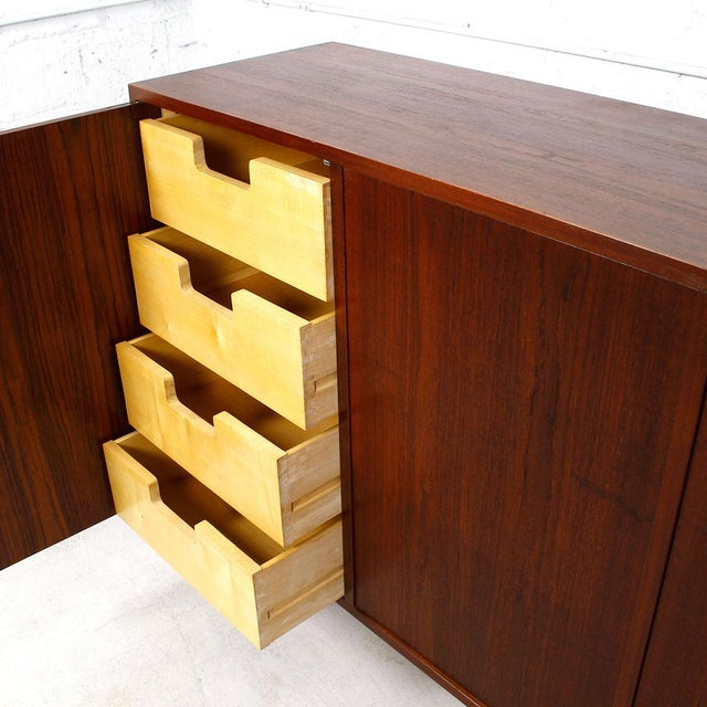 Image of Custom Copenhagen Danish Teak Tall Cabinet