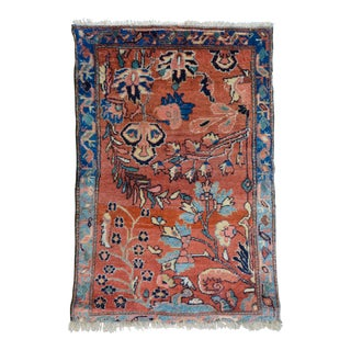 "Antique Persian Lilihan Accent Rug - 2'4"" x 3'6"""